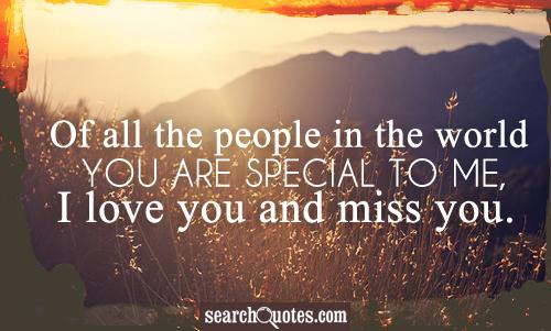 You Are Special To Me Quotes Quotations Sayings 2019