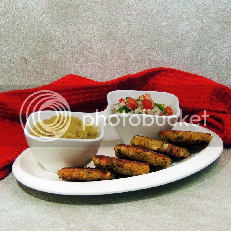 Crispy Tex-Mex Quinoa Patties
