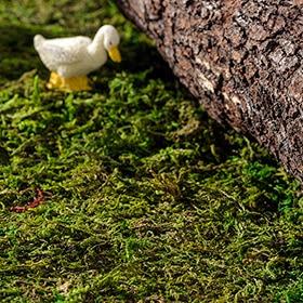 Musgo artificial verde de 60x30cm