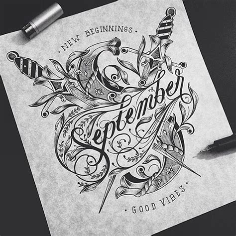 beautiful detailed hand lettering artworks raul alejandro