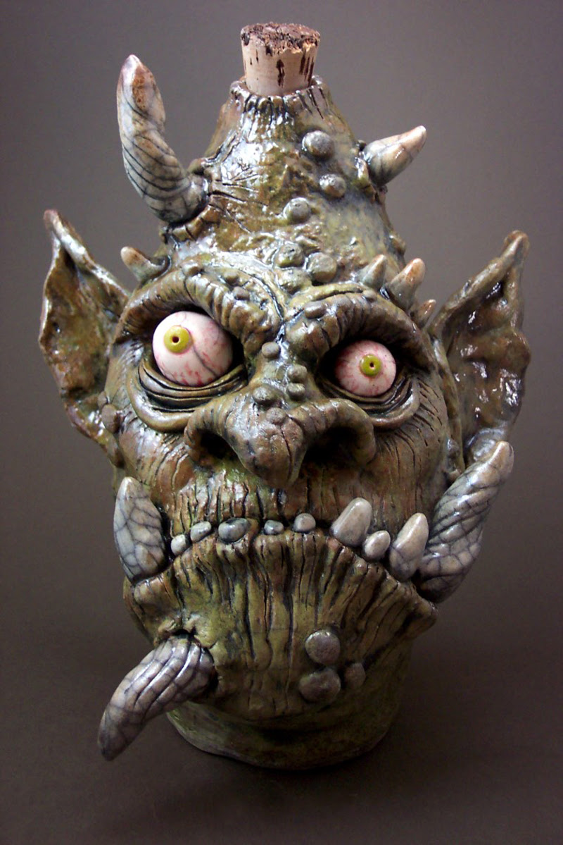 Raku Fried Troll Face