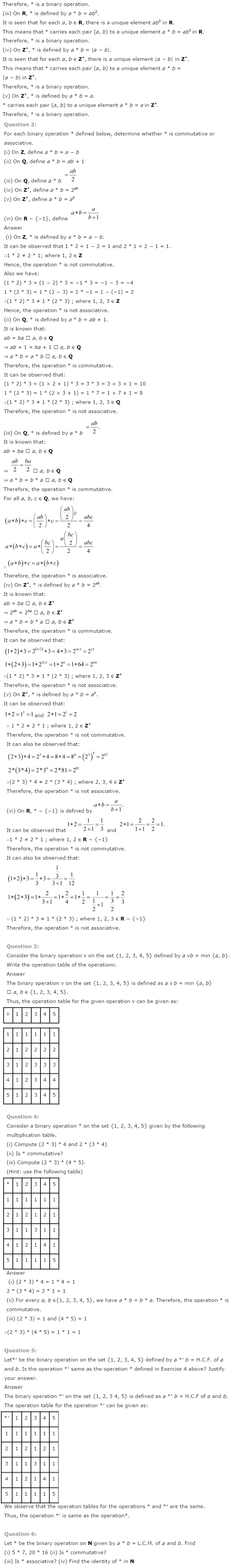 NCERT Solutions For Class 12 Maths Chapter 1 Relations and Functions-8