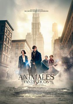 póster de la película Animales fantásticos y dónde encontrarlos