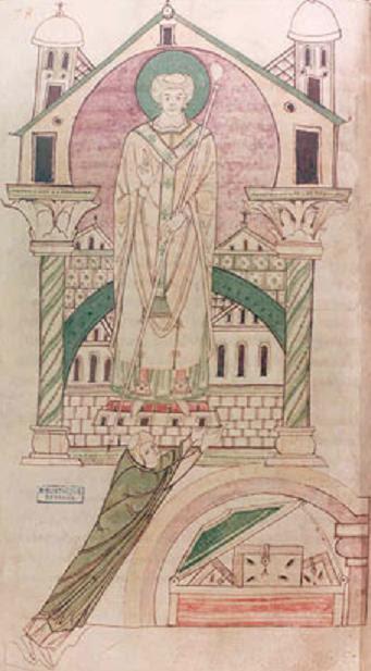 Saint Wulfran. Confesseur - Archevêque de Sens († 720)