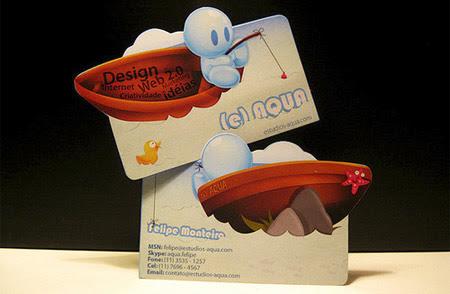 eStudios AQUA Business Card