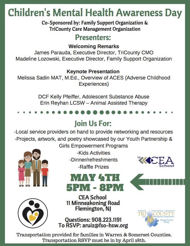 Children's Mental Health Awareness Day - Family Support ...