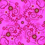 Stoff-Design - Schnabelinas Traumstoffrock Ranken rot - von Schnabelina auf www.Stoff-Schmie.de