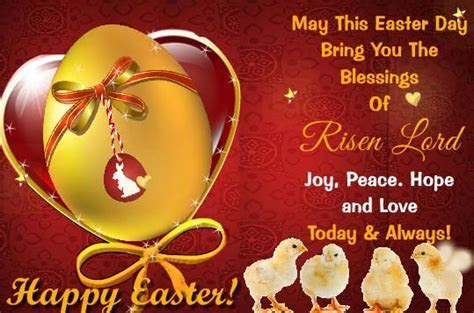Blessings Of The Risen Lord! Free Family eCards, Greeting