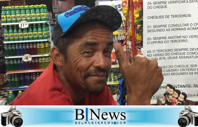 Silmar Batista da Cruz (Cabeção), encontrado morto dentro da cela na Delegacia Territorial de Belmonte.