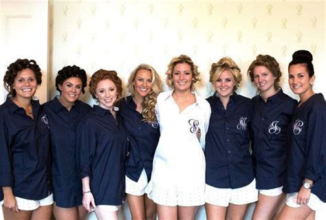 Personalized Bridal Party Get Ready Shirts make such a