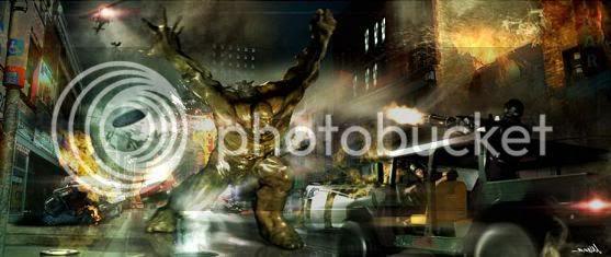 Artes do Hulk