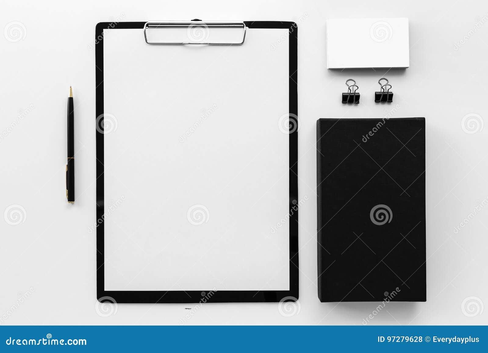 Black Stationery Branding Mockup Free Download Free ...