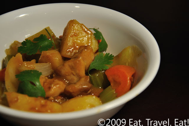 Apple Curry Chicken