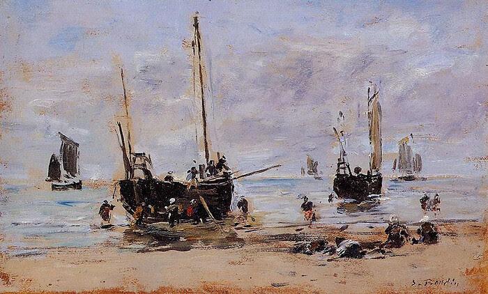 boudin-fishermenatlowtide