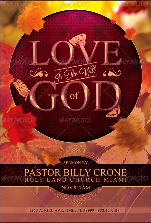 48 Harvest Thanksgiving Flyer Templates Godserv Designs