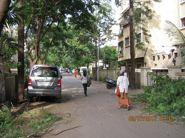 View of Suvarna Nagari Path to Pate Developers' Kimaya, 2 BHK Flats, Swami Vivekanand Road, Bibwewadi, Pune 411 037