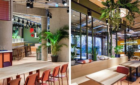 Studio Aislinger's Kantini designer food court in Berlin