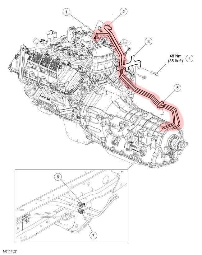32 7 3 powerstroke fuel line diagram