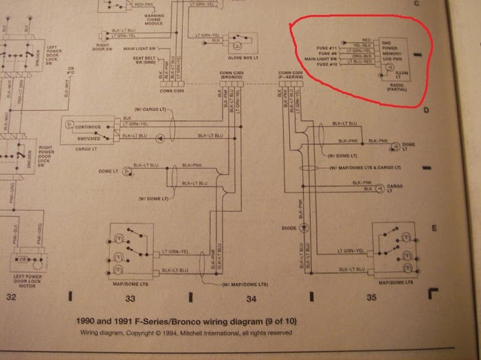 Wiring Diagram For 1991 Ford F-150 - Ford F150 Forum ...