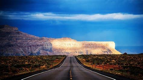 arizona road hdr hd wallpaper wallpaperfx