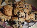 Simona's Blueberry Scones