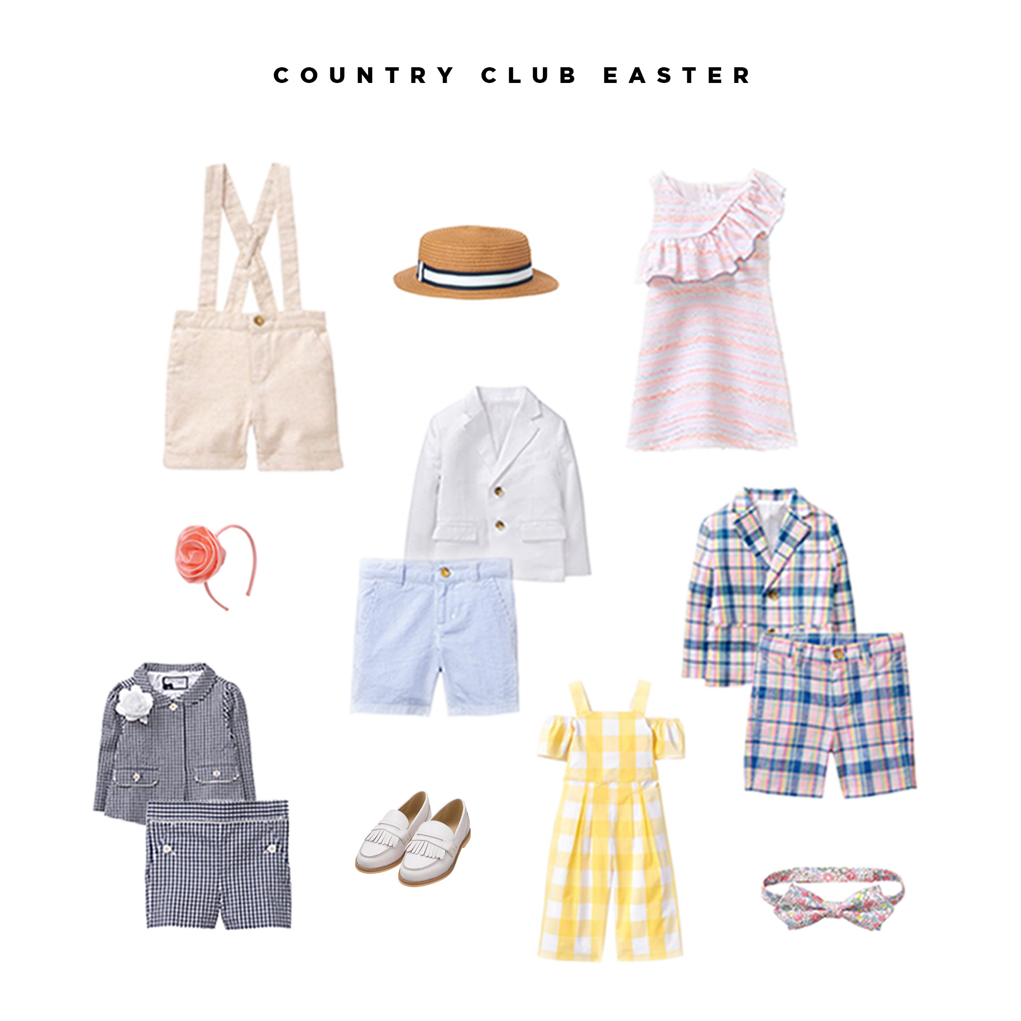 Kids Spring Easter Outfits - Vegas Realty