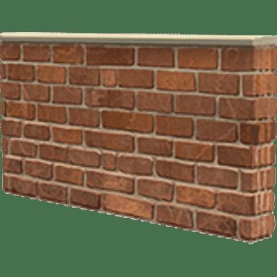 Small Brick Wall transparent PNG - StickPNG