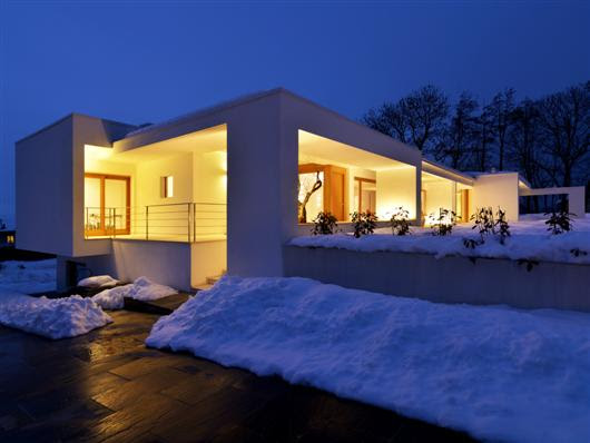 duilio damilano horizontal space modern architecture  architecture, snow house, modern architecture, contemporary architecture , modern interior design , interior design , exterior design