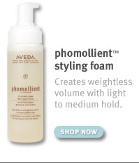 phomollient™ styling foam Creates weightless volume with light to medium hold. SHOP NOW.