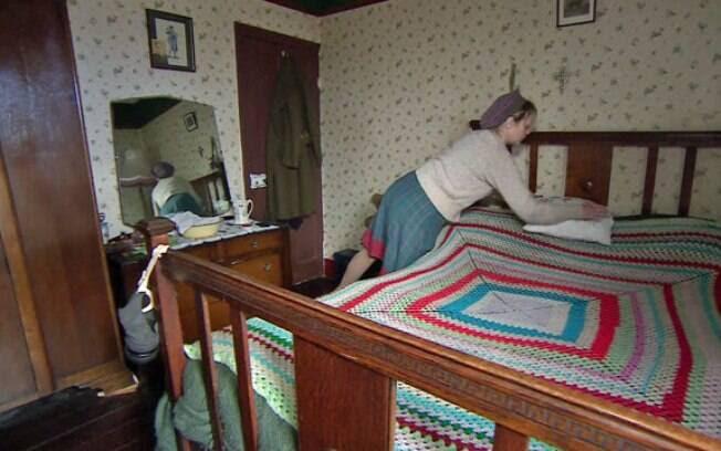 Tudo na casa de Joana Francis está adpatado ao período do pré-Guerra