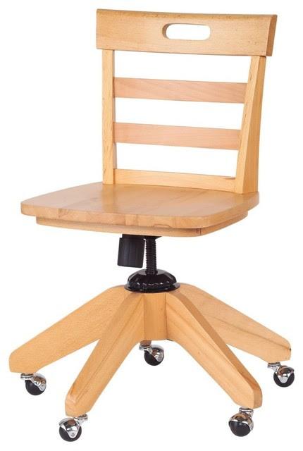 Max Kids Desk Chair - modern - kids chairs - by Hayneedle