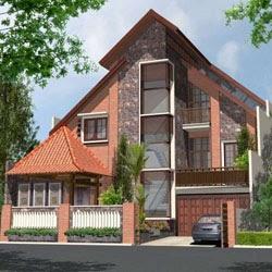 bentuk atap rumah dengan gaya tropis adalah - berbagi