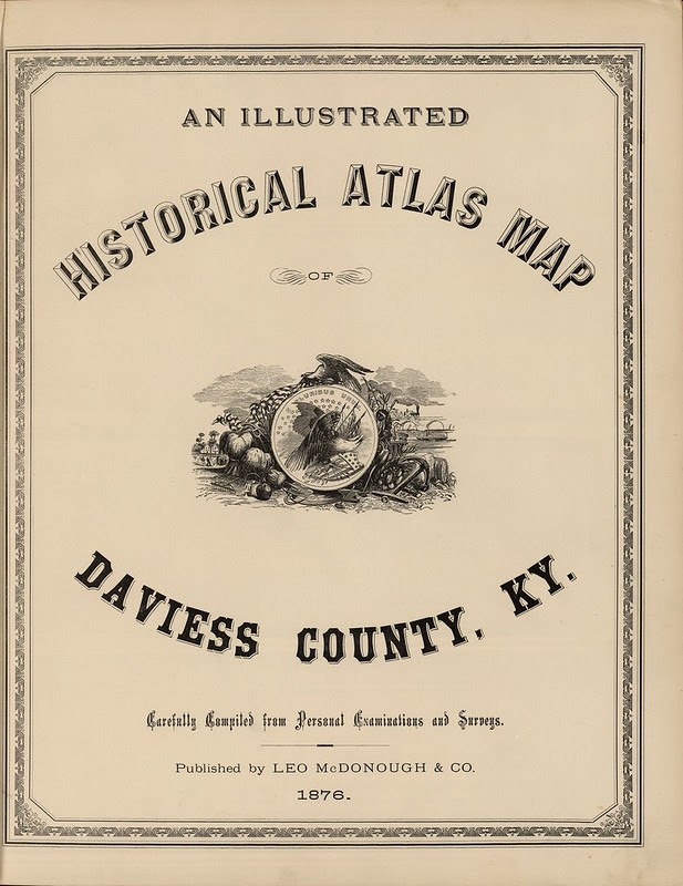 book title page fonts