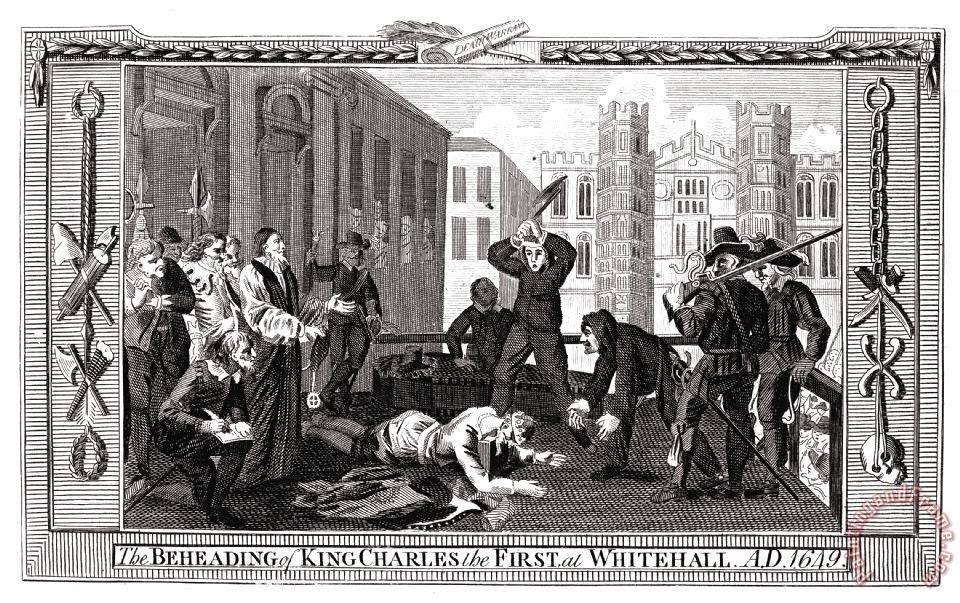 Resultado de imagen de Charles I, execution