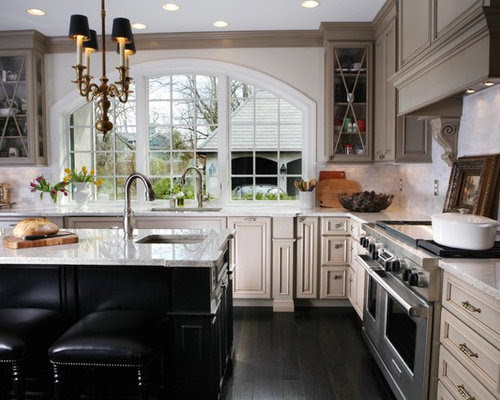 Taupe Cabinets Home Design Ideas, Pictures, Remodel and Decor