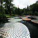 Impresionantes Bruce Munro Instalaciones LED iluminan los jardines de Longwood (13) Cortesía de Bruce Munro