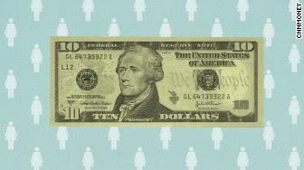 10 dollar bill announcement