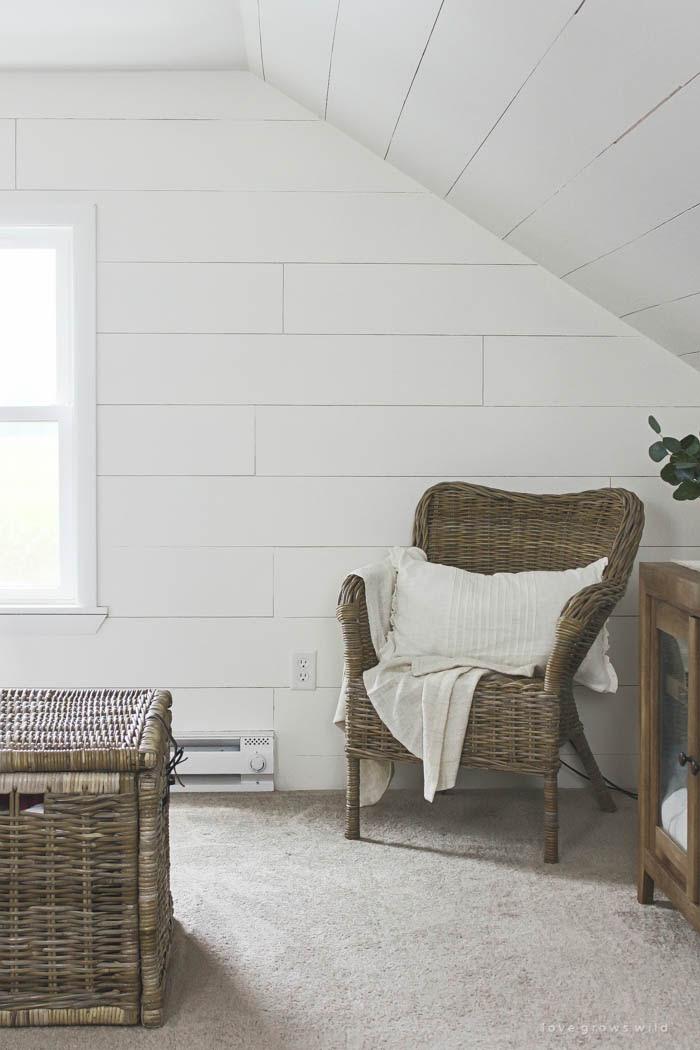 Master Bedroom Planked Walls Love Grows Wild