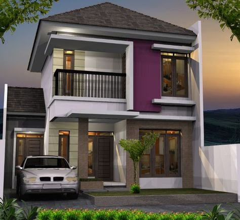 gambar rumah tingkat minimalis modern - home desaign