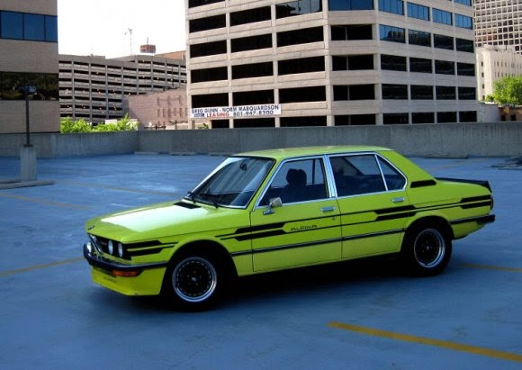 1976 BMW 520i Gray Market Sedan