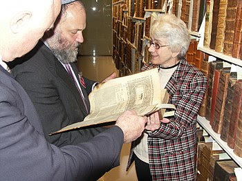 Israel MK Effie Eitam at the American Bible So...