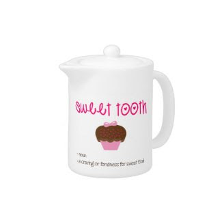 Sweet Tooth Definition teapot