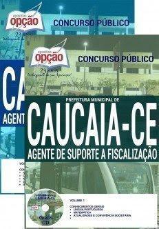 Apostila Prefeitura de Caucaia AGENTE DE SUPORTE A FISCALIZAÇÃO