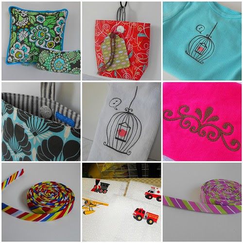 June Sewing Montage