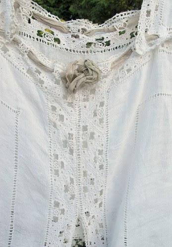 linen and lace details