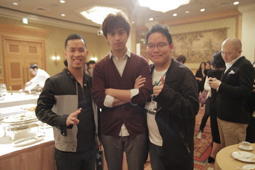 With Taiwanese actor Wilson Chen