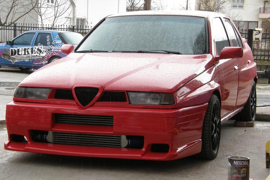 mpampis_ :: 2012 Alfa Romeo 155 Q4  BerlinaSportivo :: Italian Sports Saloons