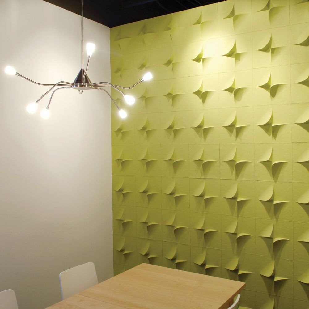 Decorative wall panel in recycled cardboard - V2 by Jaime Salm - MIO