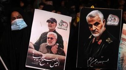 В Иране проходят акции в память о генерале Сулеймани