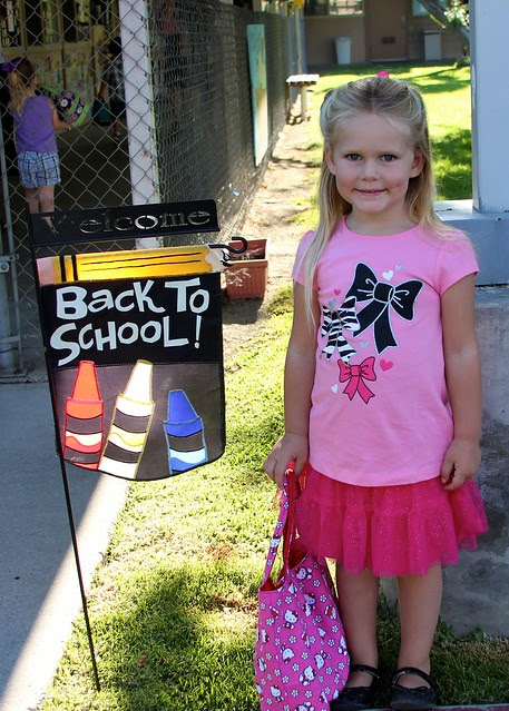 Giulietta's First Day of School 2012 16